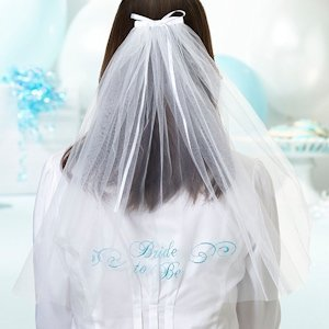 Bride To Be Veil image