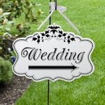 Large Wedding Arrow Sign