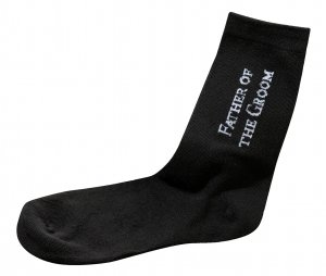 Father of the Groom or Bride Socks image