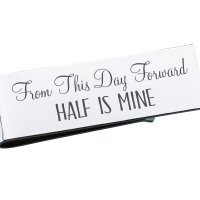 Half Is Mine Money Clip