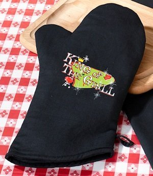 King of The Grill Oven Mitt image