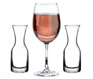Wine Glass and Carafe Wedding Ceremony Set image