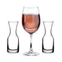 Wine Glass and Carafe Wedding Ceremony Set
