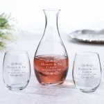 Decanter & Wine Glass Wedding Ceremony Set