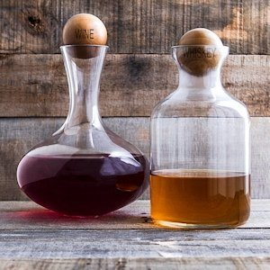 Wine & Whiskey Decanter Set image