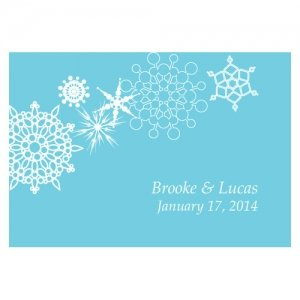 Winter Finery Large Rectangular Tag (Set of 12) image