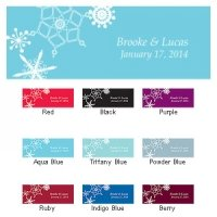 Winter Finery Small Rectangular Tags (Set of 20)