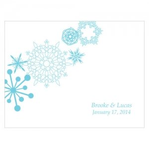 Winter Finery Blank Note Cards (Set of 6 - 9 Colors) image