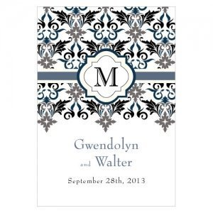 Lavish Monogram Large Oblong Tags (Set of 12) image