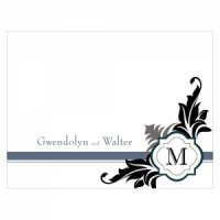 Lavish Monogram Blank Note Cards (Set of 6)