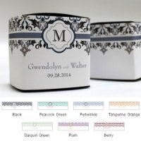 Lavish Monogram Favor Box Wrap (Set of 20)