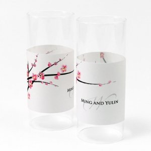 Cherry Blossom Mini Luminary Wrap (Set of 12) image