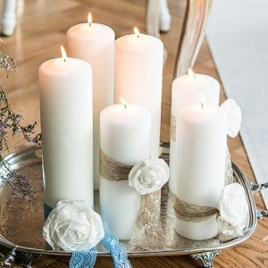 Round Pillar Candles image