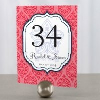 Moroccan Personalized Table Number (6 Colors)