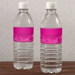Contempo Hearts Water Bottle Labels (Set of 10)