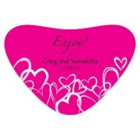 Contempo Hearts Container Sticker (15 Colors)