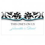 Damask Small Drink Tickets (Set of 120)
