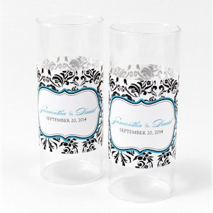 Love Bird Damask Mini Luminary Wrap (12 Pack) image