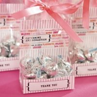 Old Time Candy Personalized Cellophane Bag Insert