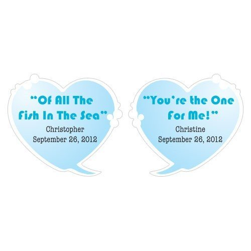 39 of all the fish in the sea 39 personalized bubble stickers for All the fish in the sea
