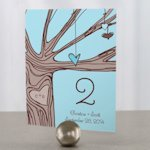 Heart Strings Table Number Cards (3 Colors)