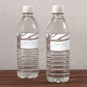 Heart Strings Water Bottle Labels (Set of 10) image