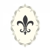 Fleur De Lis Die Cut Sticker (7 Colors)