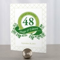 Luck of the Irish Table Number Cards (5 Colors)