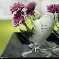 Personalized Bud Vase Cling (17 Colors)