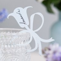 Laser Expressions Bluebell Die Cut Card - Many Colors