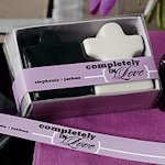 Completely in Love Personalized Favor Ribbons (Many Colors)