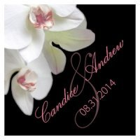 Classic Orchid Square Tag (Set of 20 - 4 Colors)