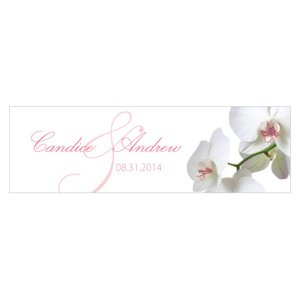 Classic Orchid Small Rectangular Tag (Set of 20) image