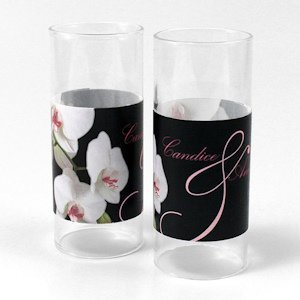 Classic Orchid Mini Luminary Wrap (Set of 12) image