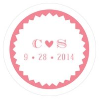 Homespun Charm Small Sticker (4 Colors)