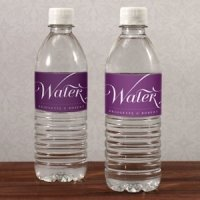 Expressions Personalized Water Bottle Labels
