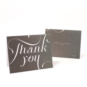 Expressions Thank You Card (Set of 2) image