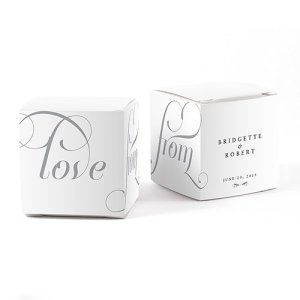 Expressions Favor Box Wrap (Set of 10 - 16 Colors) image