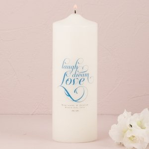 Expressions Personalized Unity Candle (16 Colors) image