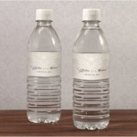 Vintage Lace Personalized Water Bottle Labels