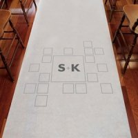 Times Square Personalized Aisle Runner (3 Colors)