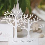 Owl Tree Silhouette Die Cut Cards (Set of 12)