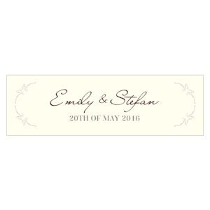 Equestrian Love Small Rectangular Tag (Set of 20) image
