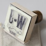 Personalized Vineyard Rubber Stamp