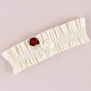 Romantic Red Flower of Love Garter image