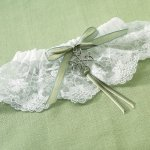 Celtic Charm Wedding Garter