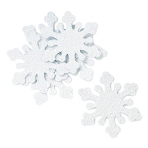 Iridescent Snowflakes (Set of 10) image