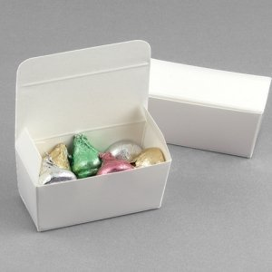 White Truffle Favor Boxes (Sets of 20) image