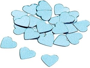 Metallic Heart Confetti (3 colors) image