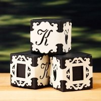 Personalized Monogram Baroque Box Wraps (6 Colors)